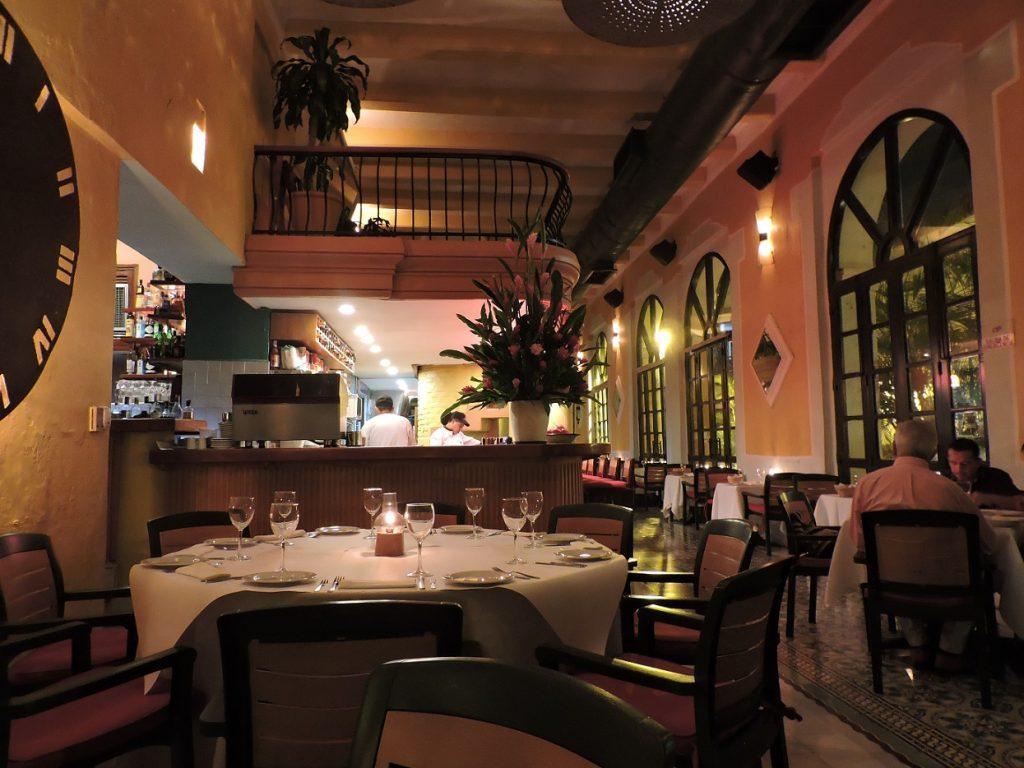 Salão do restaurante.