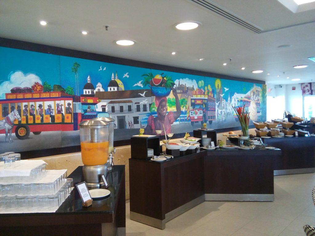 Café da manhã no Hilton