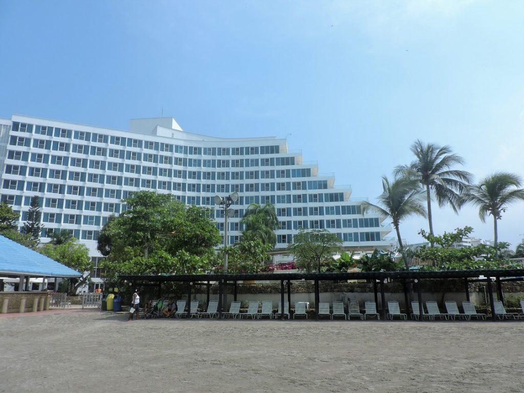 Praia do Hotel Hilton Cartagena