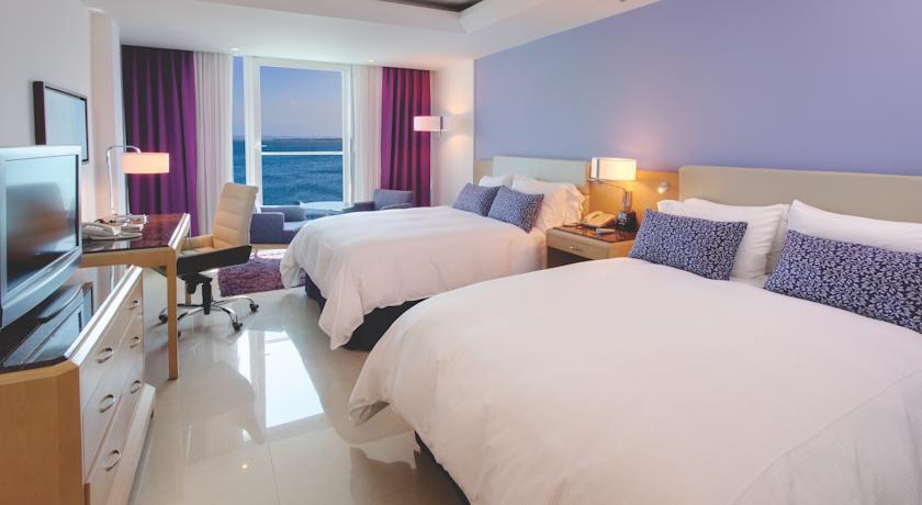 Quarto que ficamos Créditos da foto: Hilton Cartagena